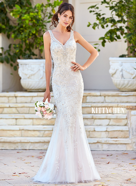 Kitty Chen Wedding Dress Gown Bellissima Bride Deerfield Beach