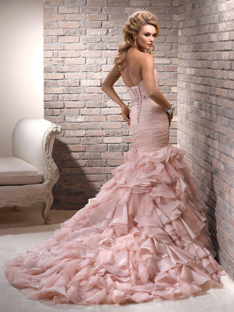Fantástico Vestido De Novia Corto Maggie Sottero Fotos - Colección ...