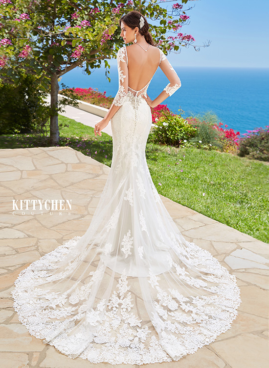 Kitty Chen Wedding Dress Gown Bellissima Bride Deerfield Beach